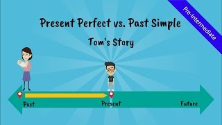 Download Present Perfect Tense vs. Past Simple: Tom's Story (A comical story of Tom, the ESL student - Video) Video