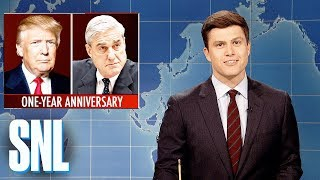 Download Weekend Update on One-Year Anniversary of Robert Mueller Investigation - SNL Video