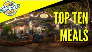 Download Best Meals at Disneyland | Fresh Baked Top 10 Video