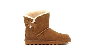 Download BEARPAW Margaery Suede Boot with NeverWet Video