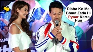 Download Tiger Shroff Openly Confesses LOVE For Girlfriend Disha Patani At Pepsi Anthem Song Launch Video