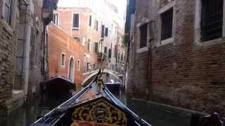 Download Beautiful Gondola Ride in Venice, Italy 6-26-2015 HD Video