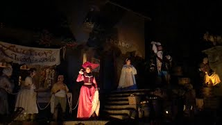 Download Final Boat Sails Past the Classic Auction Scene in Pirates of the Caribbean, Walt Disney World Video
