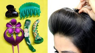 Download How To Use Hair ClutcherTo Make Quick & Easy Hairstyles/Hair Puff, ponytail & bun Video