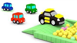 Download 4 coches coloreados - Atrapamos al ladrón. Video