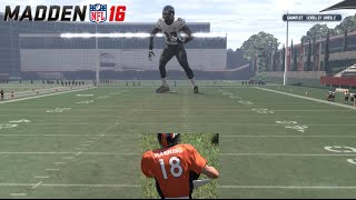 Download LEVEL 40 BOSS CHALLENGE HAIL MARY RAGE! Peyton Manning RUNS FOR TD! Madden 16 Gauntlet Video