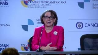Download 2016/10/29 Rueda de prensa Rebeca Grynspan durante la XXV Cumbre Iberoamericana. Video