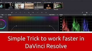 Download A Simple Trick to Work WAY Faster in DaVinci Resolve 12 Video