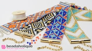 Download How to Make the Beaded Loom Bracelet Kits by Beadaholique Video