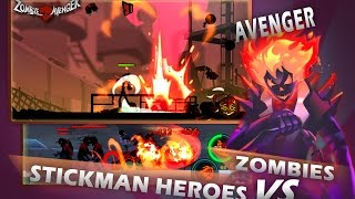 Download Zombie Avengers Stickman War Z Mod Apk Hack 2017 - Free Shopping/No Cooldown Video