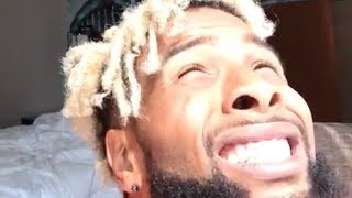 Download Odell Beckham Jr Stares at the Solar Eclipse without Special Glasses Video
