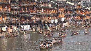 Download China Tourism - Ancient Fenghuang town Video