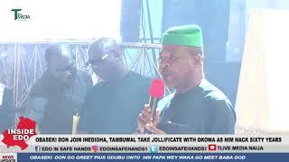 Download Obaseki Don Join Ihedioha,Tambuwal Take Jollificate With Okowa As Him Nack 60Years Video