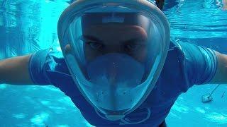 Download GoPro Snorkelling Full Face Mask Review | DansTube.TV Video