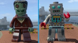 Download LEGO City Undercover (PS4) - All Special 2 Characters (Super Minifigure Cheat) Video