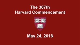 Download Harvard University's 367th Commencement | May 24, 2018 Video