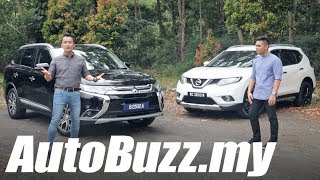 Download Mitsubishi Outlander 2.0 4WD vs Nissan X-Trail 2.0 2WD review - AutoBuzz.my Video