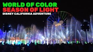 Download World of Color: Season of Light NEW FULL SHOW for Christmas 2016 at Disney California Adventure Video