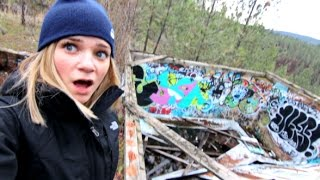 Download Crazy Abandoned Thing On Our Hike!! Video
