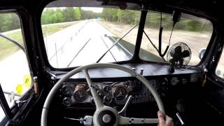 Download Take a ride in the 1950 Kenworth - Shifting and Cummins sound Video