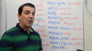 Download Profissões em árabe - A pedido de Cleberson! Video