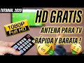 Download ✔ Fabrica tu ANTENA CASERA HD TV Digital | Tutorial 2019 Video