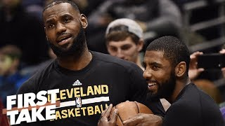 Download LeBron is the reason Kyrie Irving left Cleveland not the other way around - Stephen A. l First Take Video