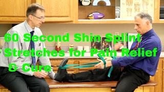 Download 60 Second Shin Splint Stretches for Pain Relief & Cure (Self-Treatment) Video