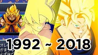 Download Evolution Of Son Goku's Super Saiyan Awakening; 24 Games (1992 to 2018) Video