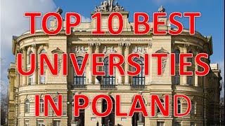 Download Top 10 Best Universities In Poland/Top 10 Mejores Universidades En Polonia Video