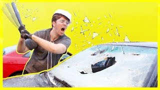 Download DESTROYING A CAR! *NOT CLICKBAIT* Video