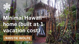 Download Building your own Hawaii minimal house for a vacation's cost Video