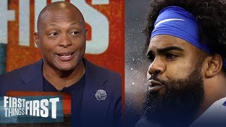 Download Eddie George on Zeke's frustration in Dallas, Dak Prescott's stuggles | NFL | FIRST THINGS FIRST Video
