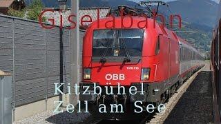 Download Führerstandsmitfahrt Giselabahn Kitzbühel - Zell am See [HD] - Cab Ride - ÖBB 1116 Video