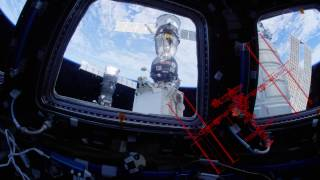 Download NASA 4K Video: UHD ISS Space Station Fisheye Fly Through 4K Ultra HD Video