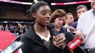 Download Interview: Simone Biles - Day 1, 2018 US Championships Video