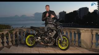 Download Yamaha MT-09 (2017) - road test and review | BikeSocial Video