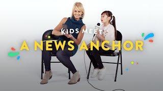 Download Kids Meet a News Anchor | Kids Meet | HiHo Kids Video