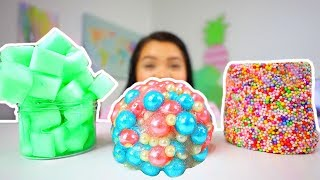 Download ADDING TOO MANY INGREDIENTS INTO SLIME! adding too much of everything into slime Video