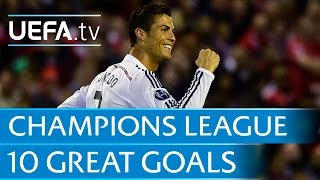 Download 10 great goals from the 2014/15 UEFA Champions League Video