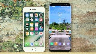 Download iPhone 7 vs Samsung Galaxy S8: Full Comparison Video