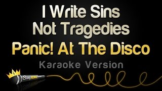 Download Panic! At The Disco - I Write Sins Not Tragedies (Karaoke Version) Video