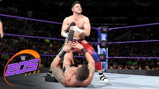 Download TJP beats Mario Connors faster than Rich Swann: WWE 205 Live, July 11, 2017 Video