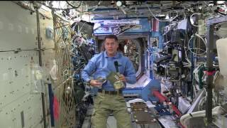 Download Space Station Commander Celebrates Thanksgiving in Orbit Video