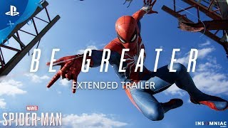 Download Marvel's Spider-Man – Be Greater Extended Trailer | PS4 Video