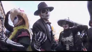 Download James Bond inspires Dia de los Muertos in Mexico City Video