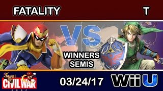 Download 2GGC: Civil War - FS | Fatality (Captain Falcon) Vs. T (Link) Winners Semis Video