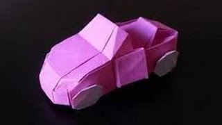 Download Origami Car Origami Paper How To Make Origami Car HD Video