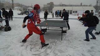 Download En Russie, 1er championnat de ping pong... sur glace Video