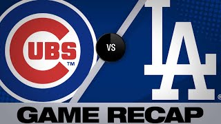 Download Rizzo's go-ahead HR propels Cubs | Cubs-Dodgers Game Highlights 6/15/19 Video